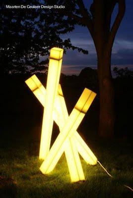 Iluminaci n exterior de dise o paperblog for Iluminacion exterior jardin diseno