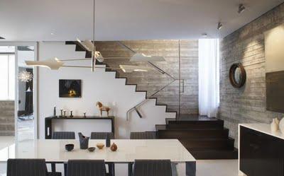 Muros de hormigon en casas minimalistas Paperblog