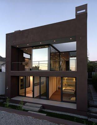 Fachadas y frentes de casas minimalistas ii paperblog for Frentes de casas minimalistas