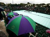 Wimbledon: Otra vez, lluvia interrumpió jornada
