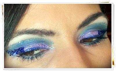 Reto Purpurina2 de Amigas Makeup: Costa night