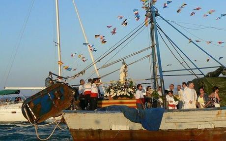 Fiestas de la Virgen del Carmen 2011 en la Provincia de Alicante