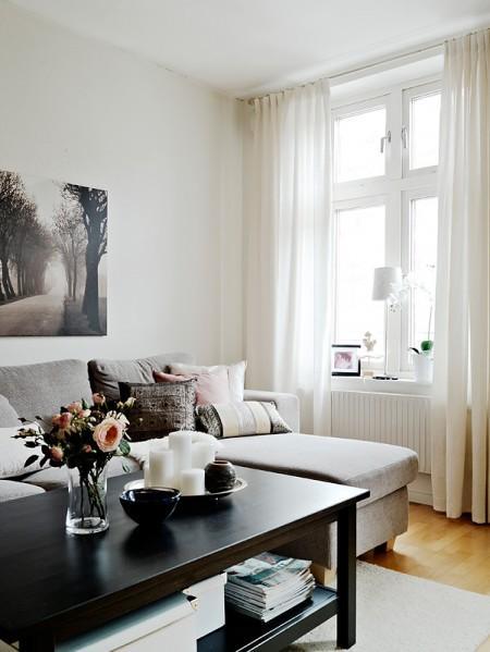 Una Decoración Cálida Y Personal Con Muebles De Ikea Paperblog