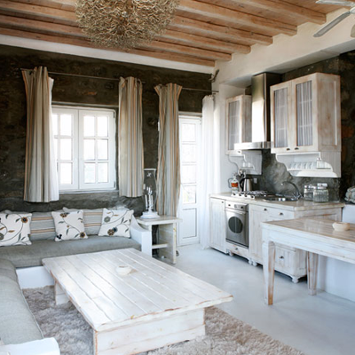 Simplicidad veraniega casas griegas paperblog for Decoracion casa griega