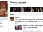 Rihanna superara Lady Gaga Eminem Facebook