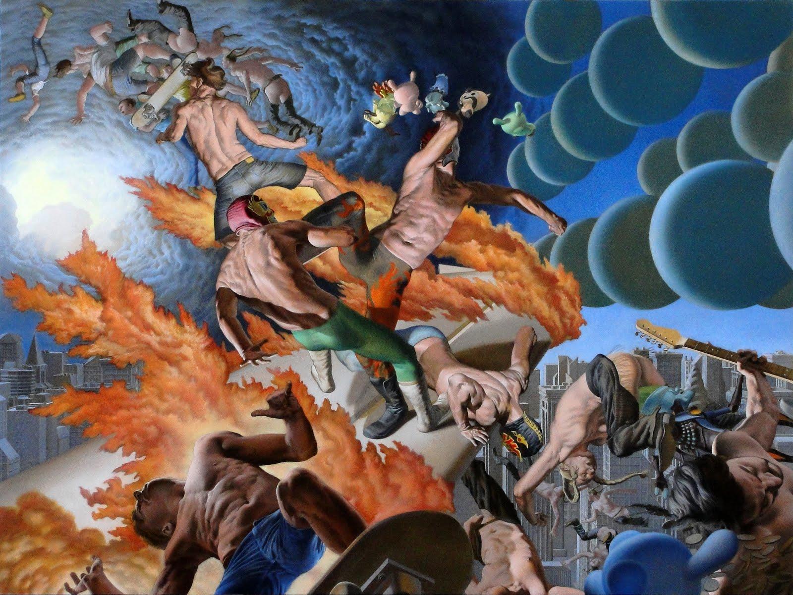 Nicola Verlato – Pinturas (IV)