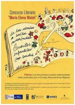 """Concurso Literario  """"María Elena Walsh"""""""