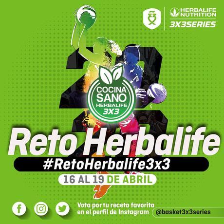 El baloncesto 3X3 se suma al #RetoHerbalife