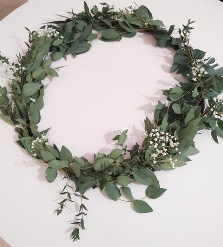 DIY: Corona XXL de eucalipto natural