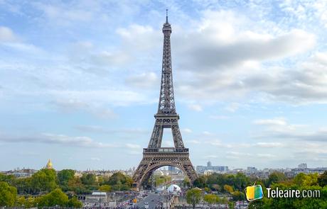 Viajar a Francia y visitar la torre Eiffel