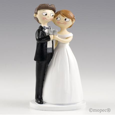 Estos son los Novios para tarta de boda que serán tendencia después del coronavirus