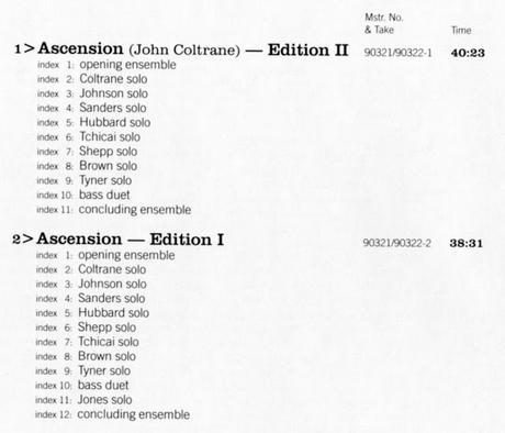John Coltrane - Ascension (1966)