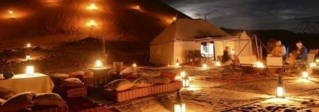 Dormir en el Desierto de Marruecos