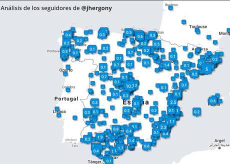 Tweepsmap, un mapa de tus seguidores por país, estado o ciudad.