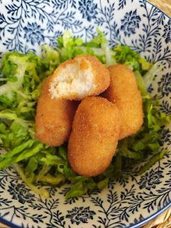 Croquetas de merluza - Sin lácteos y sin huevo