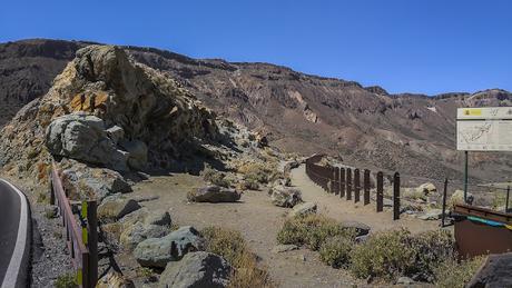 El Mirador de Los Azulejos – Las Cañadas – Parque Nacional del Teide