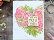 Embossed Floral Heart