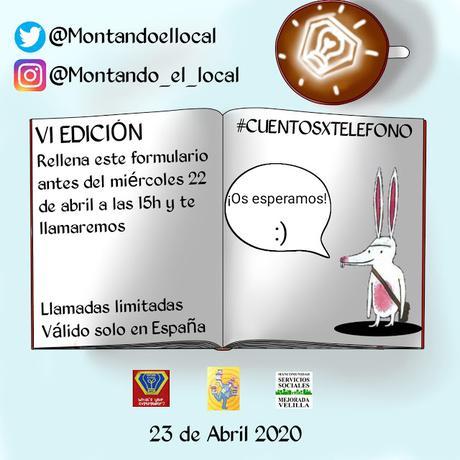 """Regala """"Cuentos por teléfono"""" VI EDICIÓN #CUENTOSXTELEFONO @montantoellocal"""