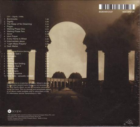 Porcupine Tree - Signify (1996 [2009])