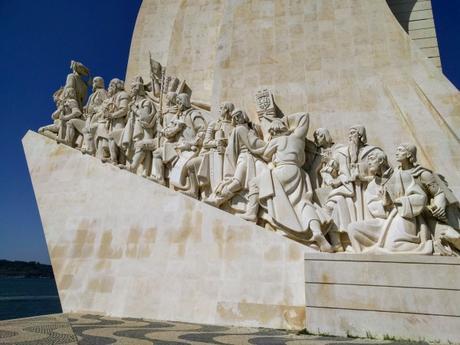 Monumento a los descubrimientos. Lisboa. Portugal