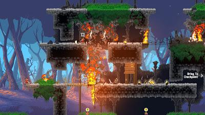 Wildfire: magia elemental plataformera
