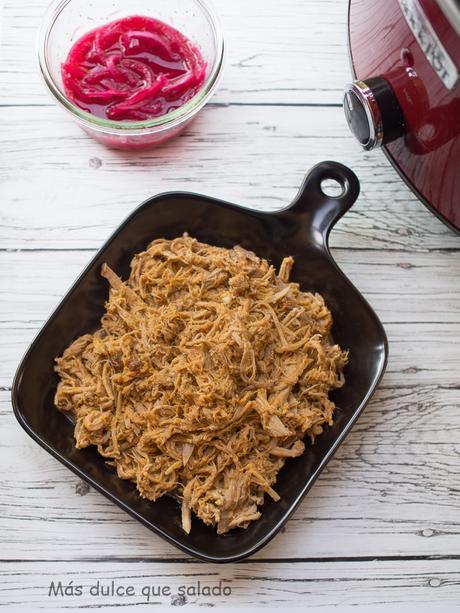 Pulled Pork en Crock- Pot
