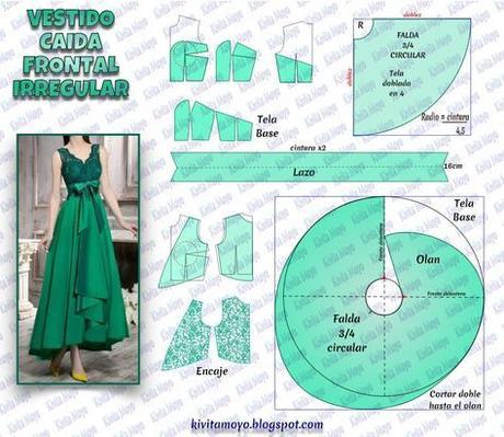 Como Hacer Falda 34 Circular