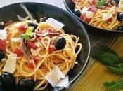 Espagueti puttanesca (receta clásica)