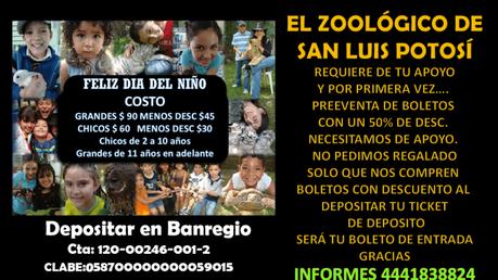 Zoológico de Mexquitic pide ayuda; animales se están quedando sin comida