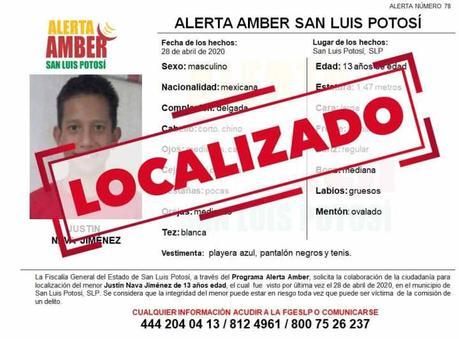 Alerta Amber: se busca a Justin Nava,fue visto por última vez en Tequis
