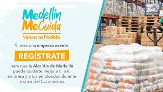 Formularios Registro Reactivación Económica Medellin 2020