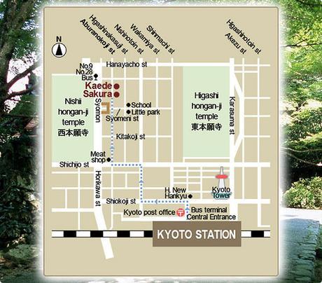 Ryokan Sakura en Kyoto