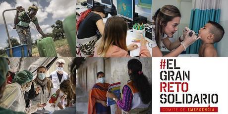 5 ONG, empresas, medios de comunicación, artistas e influencers se suman a #ELGRANRETOSOLIDARIO