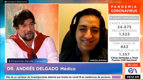 Entrevista con Carlos Vera sobre «medicamentos» para Covid-19
