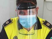 Visera protector facial, abrepuertas manos otros medios protección frente coronavirus