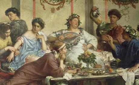 Consumo de ostras en la antigua Roma