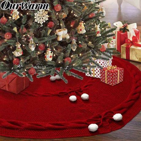 Falda Circular Roja Navidad