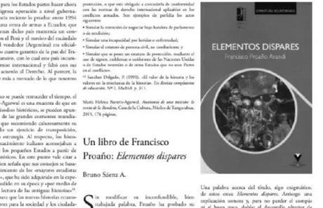 Un libro de Francisco Proaño Arandi   Bruno Sáenz