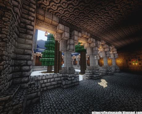 Creaciones Minecrafteate: Reino de Noriland, Castillo-Palacio en Minecraft.