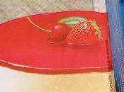 Gelatina para postres, abrillanta conserva