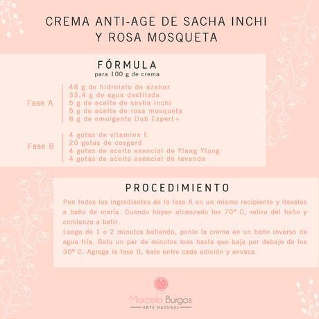 Crema anti-age con sacha inchi y coenzima Q10