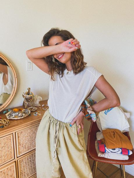 Collage Vintage Stay at Home looks