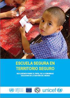 Sobre la Inclusión de la Prevención de Desastres en la Currícula Escolar