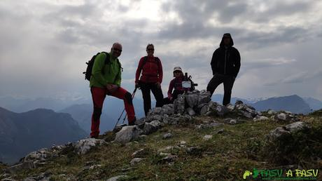 Cima en el Pico Priniello, Amieva