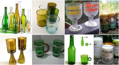 Te enseñamos cómo cortar botellas de vidrio de forma casera