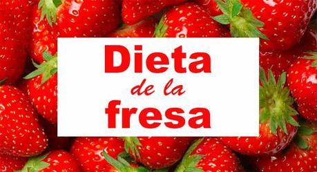 dieta de la fresa para perder peso
