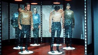 Sala de teletransporte de Star Trek