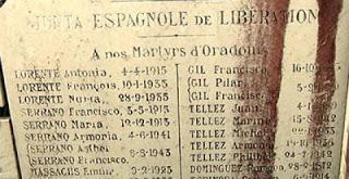 Los españoles de Oradour-sur-Glane