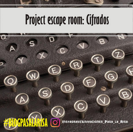 Project escape room: Cifrado de textos