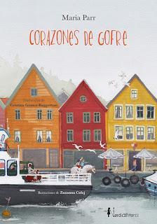 CORAZONES DE GOFRE - María Parr